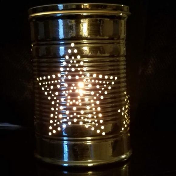 scentsy other nib tin star warmer poshmark